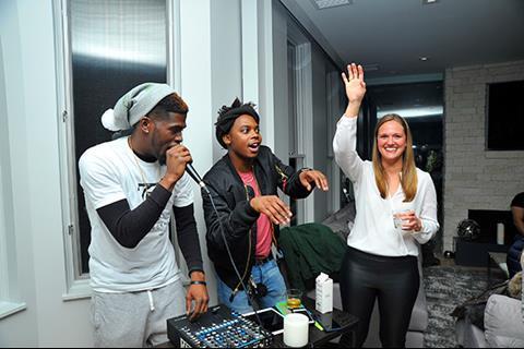 DJ Pretty Ricky, Trap Beckham, Erika Larson